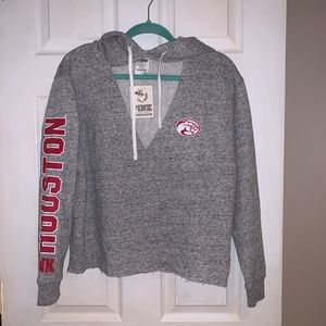PINK University of Houston Cougars Hoodie - NWT